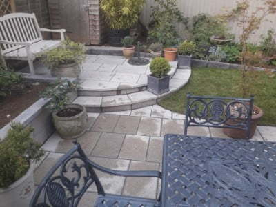 Natural Stone Oldham  Installed By Oldham Paving Contractors